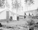 Hospital mess-tent, A.E.C., Nenana, Alaska, Aug. 1, 1916.