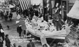 Childrens float, 4th of July celebration, 1915 Nome, Alaska.