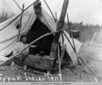 Typical Indian tent