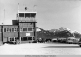 Juneau Municipal Airport control tower