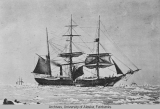 Steam Whaler 'Thrasher' in Arctic, 1885