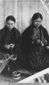 Indian basket weavers, Seattle Wash.