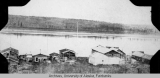 Rampart Village and the Yukon River