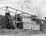Gold dredge.