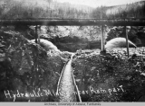 Hydraulic mining near Rampart