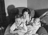 Lillian Crosson with children.