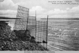 Indian fish trap, Tolovana, Alaska