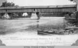 Middleburg River and carriage bridge, N.Y.
