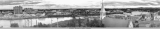 Birdseye view of Fairbanks, Alaska, June 21, 1955