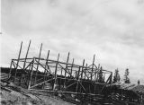 Barn in construction - Homer -...