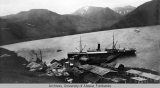 Village in the Aleutians.