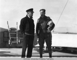 Capt. Zeisler and Father Hubbard
