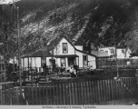 Residence of Mr. & Mrs. Ben Moore, Skagway, Alaska, July 1904