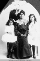 Mrs. J. B. Moore with daughters