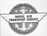 Naval Air Transport Service insignia.