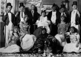 Miss Helen Klog, queen of the Kennel Club Carnival and her royal suite.  Ruby, Alaska, Feb. 22-25,...