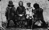 Eskimo children, Alaska.