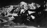 Parker-Browne Expedition 1910: Mt. McKinley, Alaska 20,300 feet from Explorers Peak, 9,000 feet.