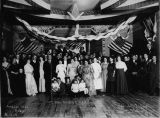 First Masonic ball, Arcadian Hall, Ruby, Alaska.