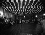Celebrating Washington's birthday with a prize mask ball in Arctic Brotherhood's Hall, Flat City,...