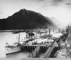 Moore's wharf, Skagway Alaska July 9th 1904
