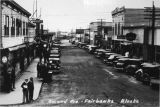 Second Avenue, Fairbanks, Alaska.  Date: the 20s.