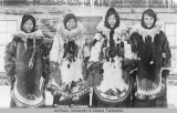 Young women at Tanana