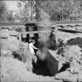 Work in RR culvert. July, 1967.