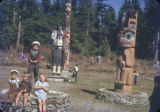 Hydaburg Totem Park. Primary school children, 5/48.