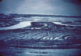 Tundra. Feb. 1951 - flying between Kobuk and Kotzebue.
