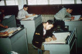 Students at their desks.