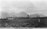 Baseball game in Valdez, Alaska 1912-1914.