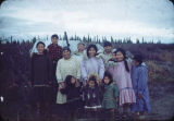 Summer camp on Kobuk River at Shungnak.