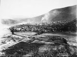 Dawson City looking north.