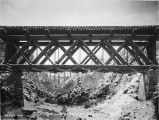 Reconstructed bridge No. 72. Oct. 8/1919.
