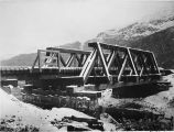 Reconstructed bridge 73. Oct. 8/1919.