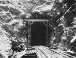 North [portal?] of tunnel No. 2. Oct. 7/1919.