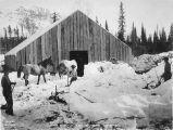 Horse stable, mile 264 A. N. R. Road. May 20 - 1920.