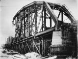 Susitna River bridge - Dec. 8 - 1920.