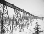 Riley Creek bridge, Feb. 10 - 1922.