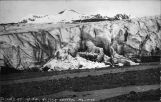 Glacier at Mile 54. Alaska Central Railway.