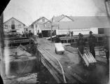 North American Transportation and Trading Co. docks.