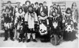 Large group of Native Alaskans.