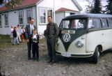 VW mini bus as school bus.