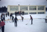 Hockey in Ninilchik.