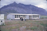 School that was flown into Anaktuvuk Pass.
