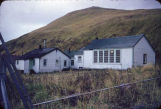 Akutan teacher's quarters and school.