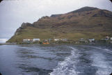 Karluk schools and newer village.