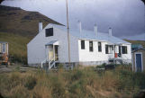 New Karluk school and teacher's quarters.