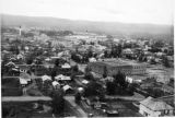 Fairbanks, aerial view.
